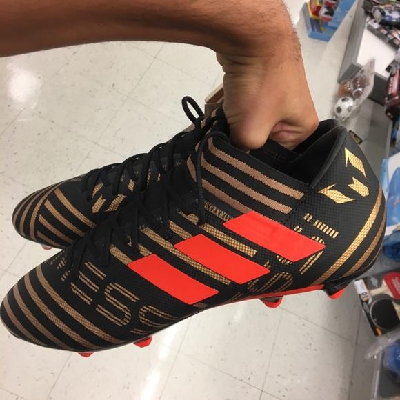 spotykać się super tanie przytulnie świeże Adidas NEMEZIZ Soccer cleats with laces NWT